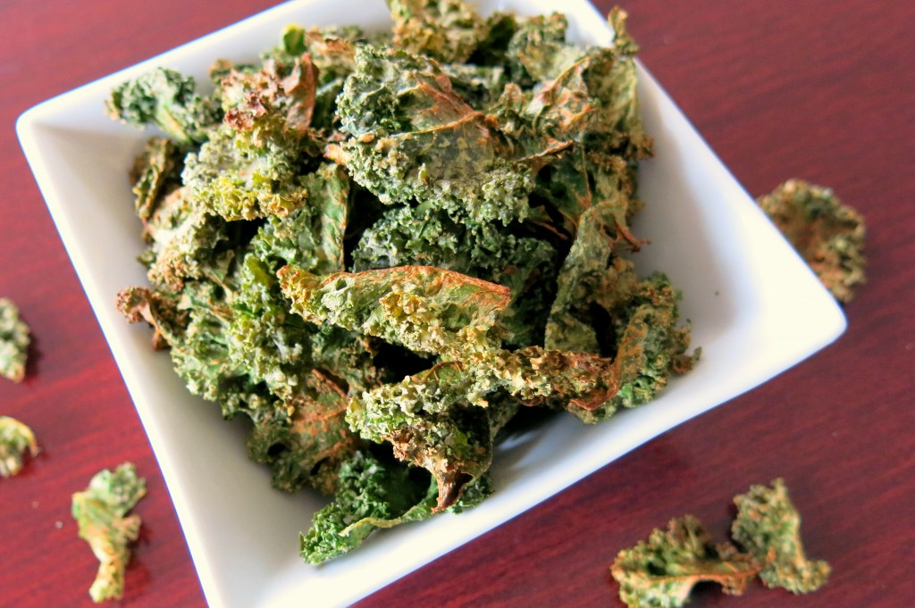 Sour Cream & Onion Kale Chips (Paleo & Vegan)