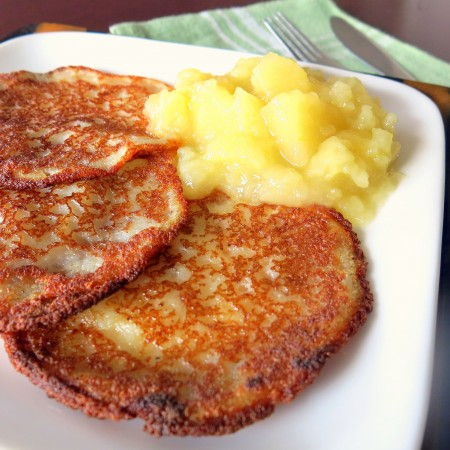 Quick & Easy Potato Pancakes in a Blender