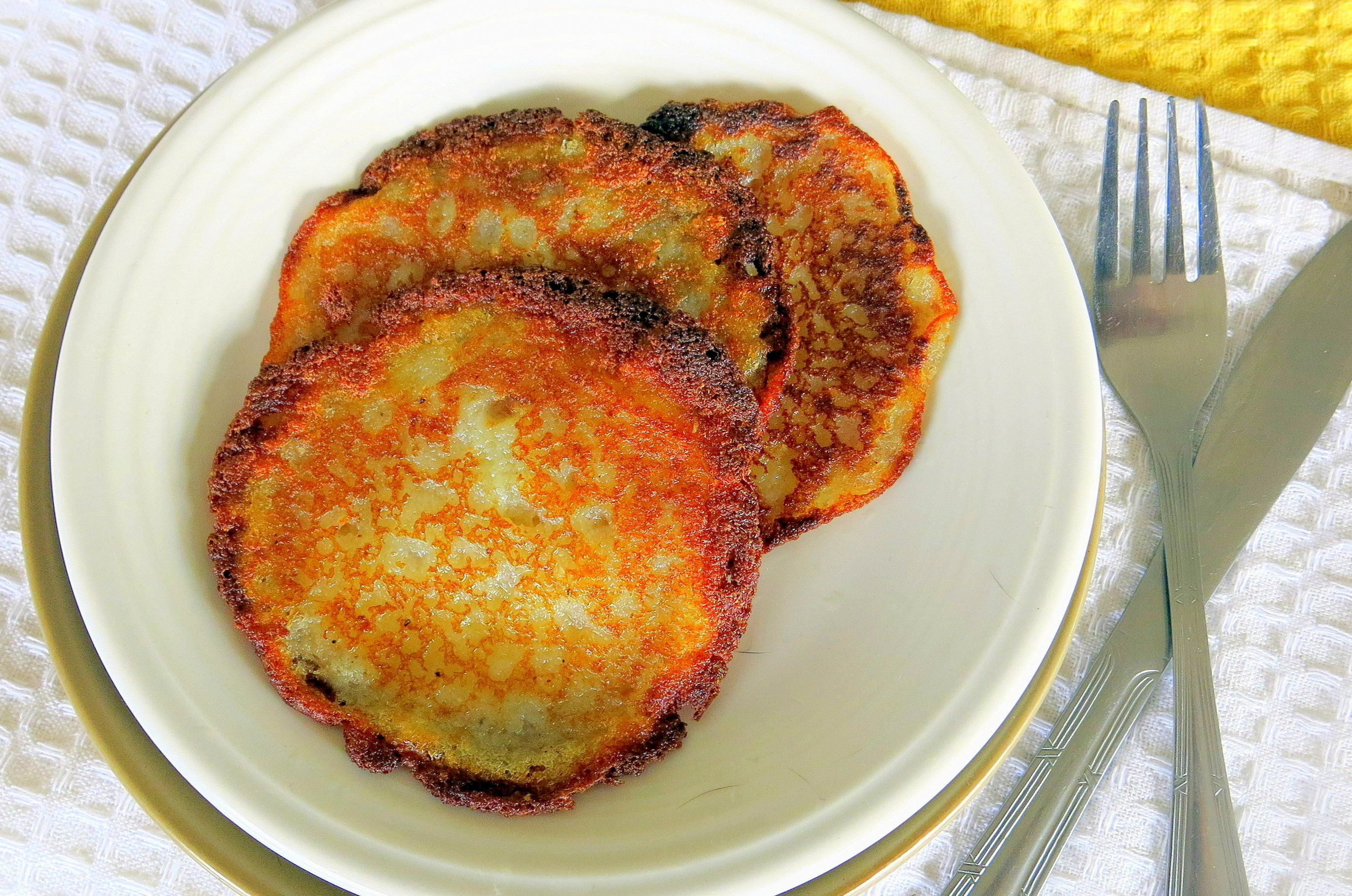 Quick easy potato pancakes in a blender i deliciate potato pancakes ccuart Choice Image