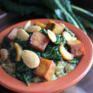 Quinoa with Smoky Kale & Tofu