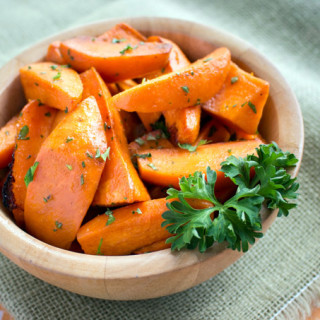 Oven-Roasted Orange-Lime Sweet Potatoes