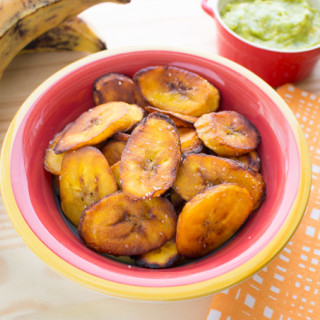 Maduros Fritos: Fried Ripe Plantains